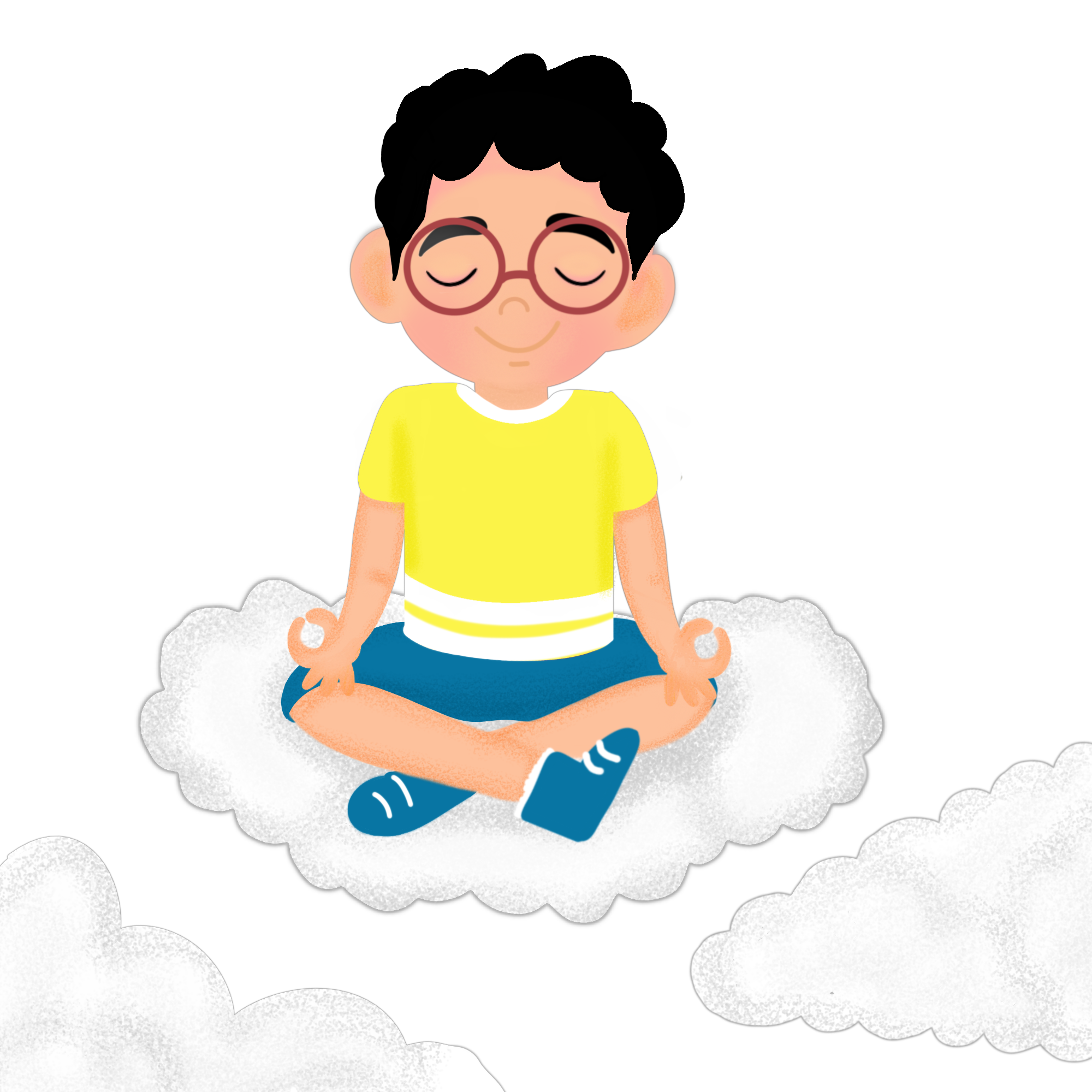 meditate kid without bg
