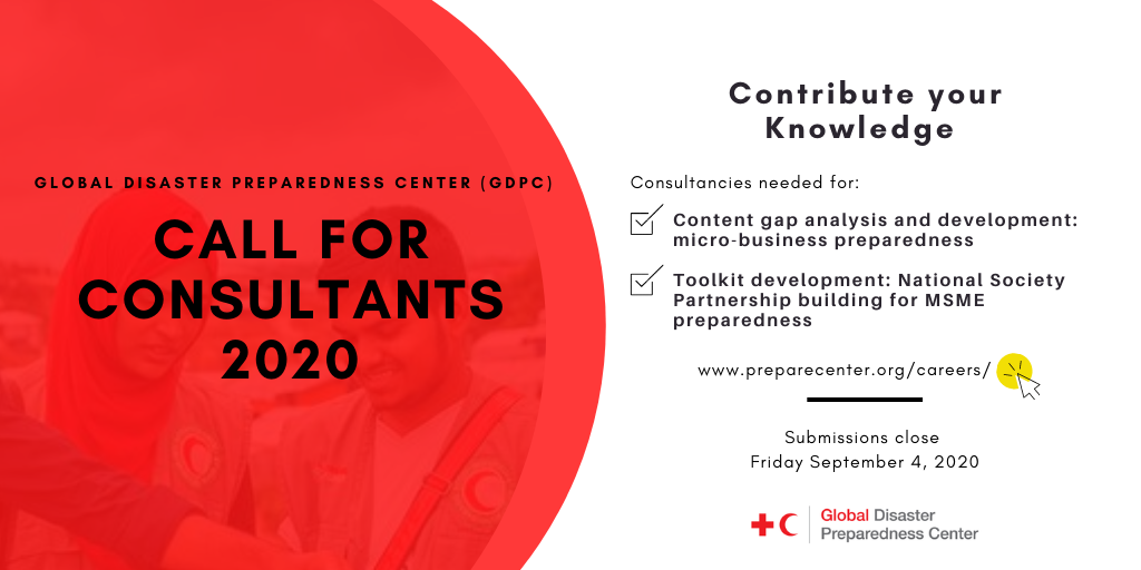 GDPC Call for Consultants