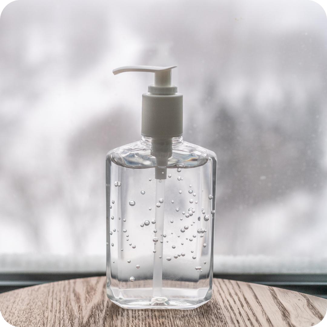 Hand Sanitizer kills COVID-19