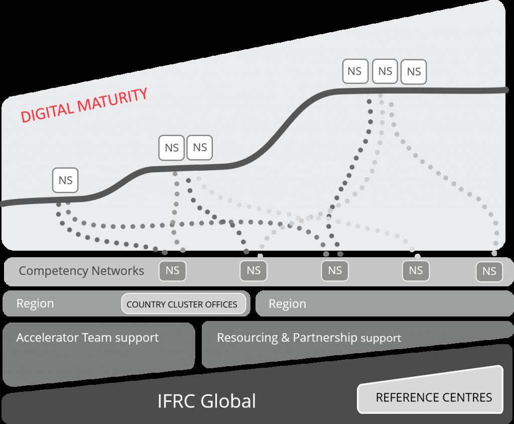 Digital Transformation Organising model